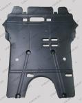 Защита двигателя Citroen C4 I 2004-2010 полиэтилен(возможна установка)
