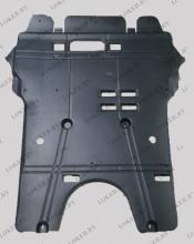 Защита двигателя и КПП Peugeot 3008