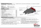 Защита картера и КПП Citroen Xsara 1997-2000