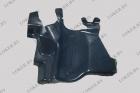 Защита двигателя боковая правая Peugeot 206 полиэтилен(возможна установка)