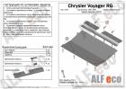 Защита картера и КПП Dodge Caravan 2000-2007 (возможна установка)