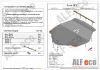 Защита картера двигателя и КПП ACURA MDX III 2013-