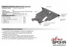 Защита картера и КПП Toyota Ipsum 2001-2009