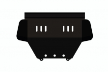 Защита картера и КПП Audi 100 III (C3) 1982-1991(возможна установка)