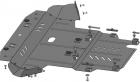 Защита картера и КПП Volkswagen Passat B5 1,8T 2000–2005(возможна установка)