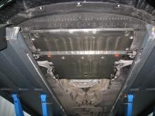 Защита картера и КПП Audi A7 I Рестайлинг 2014-н.в. (возможна установка)