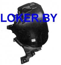 Защита крыла (подкрылок) передний правый задняя часть Audi A8 II (D3) 2002-2010 (4E0-821 192E)(возможна установка)