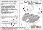 Защита картера и КПП Hyundai Grandeur 2012-2016