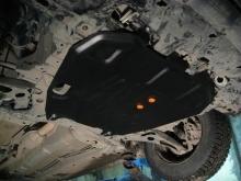 Защита картера и КПП Mitsubishi Outlander II 2006-2012(возможна установка)