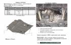 Защита картера и КПП Citroen C4 Picasso 2013-2018