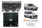 Защита картера и КПП Fiat Doblo II 2010-