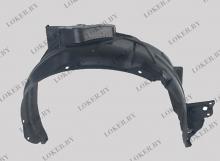 Защита крыльев (подкрылок) передний правый Honda  Jazz II 2008-2015(возможна установка)