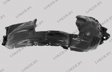 Защита крыльев (подкрылок) передний правый Nissan Juke I 2010-(возможна установка)