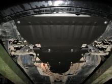 Защита картера BMW 5er 2части (E60/E61) 2002-2010(возможна установка)