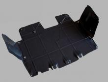 Защита двигателя комплект Fiat  Punto III Grande Punto 2005-2009(возможна установка)