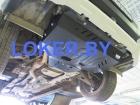 Защита картера большая Subaru Forester IV 2012-(возможна установка)