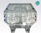 Защита картера двигателя и КПП Mitsubishi Outlander III 2012-2014