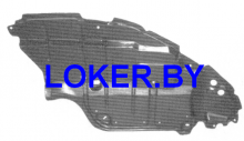Защита под бампер левая Toyota Camry VI (XV40) 2006-2011(возможна установка)