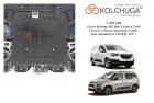 Защита картера и КПП Citroen C4 Picasso Spacetourer 2018-
