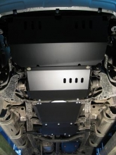 Защита КПП и РК Mitsubishi Pajero Sport II 2008-н.в.(возможна установка)