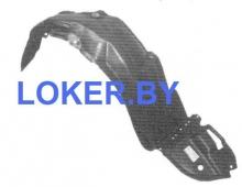 Защита крыльев (подкрылок) передний правый Toyota Matrix I (E130) 2002-2008 (53875-02100)(возможна установка)