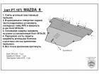 Защита картера двигателя и КПП MAZDA 6 2007-2012