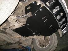 Защита картера и КПП Mercedes M-klasse I (W163) 1997-2005(возможна установка)