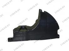 Защита двигателя боковая правая Peugeot Boxer 2006-н.в. полиэтилен(возможна установка)