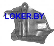 Защита двигателя боковая правая Nissan Primera I (P10) 1990-1995(возможна установка)