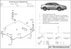 Защита картера и КПП Chrysler Sebring III 2006-2010(возможна установка)