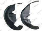 Защита крыльев задние (пара) Chevrolet Spark II 2005-2009