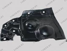 Защита двигателя боковая правая Nissan X-Trail II 2007-2014(возможна установка)
