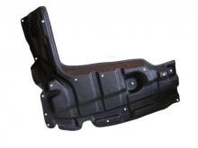Защита двигателя боковая левая Toyota Yaris II 2005-2012 бензин(возможна установка)