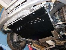Защита картера и КПП Renault Trafic 2007-