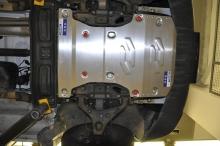 Защита картера и КПП Volkswagen Crafter 2006-