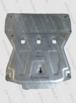 Оцинкованная защита картера и КПП Audi A6 IV (C7) 2011-2014