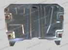 Оцинкованная защита картера и КПП Toyota  Highlander II (U40) 2007-2013