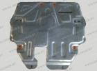 Оцинкованная защита картера и КПП Volkswagen Polo Sedan 2011- увеличенная