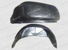 Защита крыльев задние (пара) Nissan X-Trail II 2007-2014