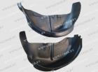 Защита задних крыльев (пара) Geely Emgrand X7 2011-2019